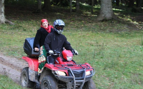 Flacara cu ATV-ul
