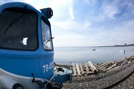 Premieră mondială pe Lacul Techirghiol