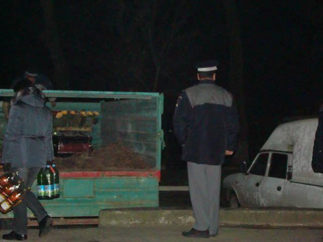 Localnici din Sf. Gheorghe, ajutati de politistii de frontiera