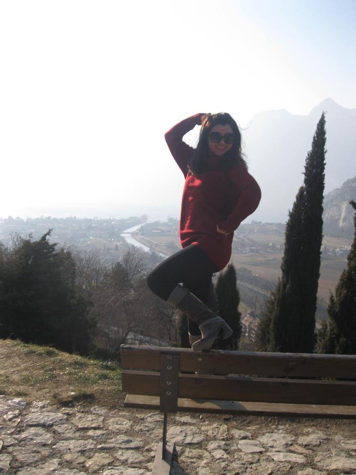 Claudia Ghitulescu in vizita la Romeo!