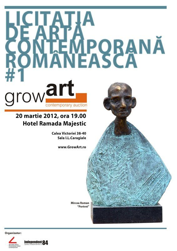 Licitația de artă contemporană din 20 martie adună 97 de loturi