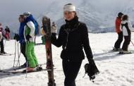 Delia Antal a fugit de la schi din Franta la Zalau la urgenta! Afla motivul!