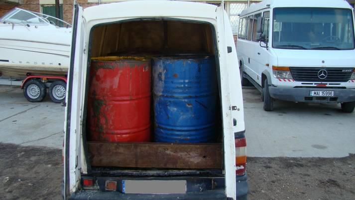 Produs petrolier transportat fără documente legale si Transport de peşte fără acte justificative