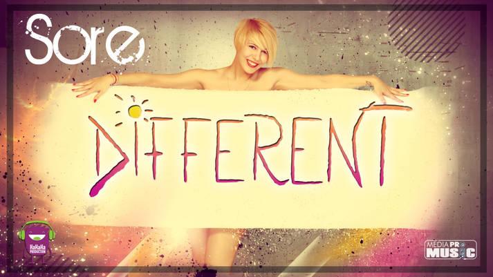 """Sore si-a lansat noua piesa """"Different"""""""