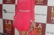 Delia Antal, pe covorul rosu cu Woody Allen la L.A. Film Festival!