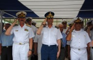 """Baza Logistică Navală """"Pontica"""" – Ceremonia prilejuită de înmânarea Drapelului de Luptă"""