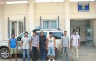 Şapte migranţi sri-lankezi reţinuţi la Negru Vodă