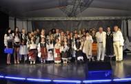 S-a incheiat  cea de a opta editie a concursului  Festivalul Tineretii, sectiunea folclor