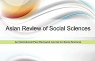 "A apărut volumul 1 al ""Asian Review of Social Sciences"""