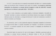 Incarcare instalatii de termoficare pentru sezonul de incalzire 2012-2013
