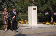 Bustul lui Dan Spătaru a fost inaugurat la Medgidia