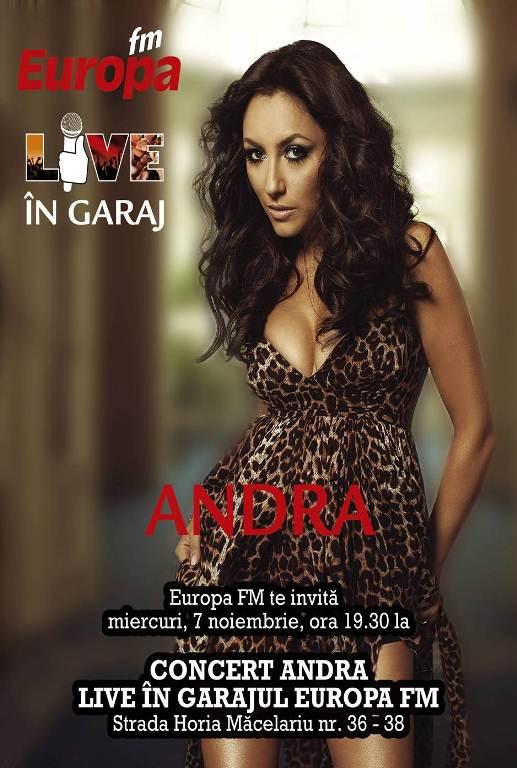 ANDRA – LIVE in Garajul Europa FM!