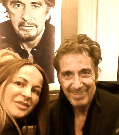 Delia Antal si-a indeplinit un vis pe Broadway: L-a intalnit pe Al Pacino!