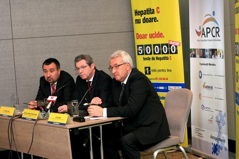 50.000 de teste gratuite pentru depistarea infecției  cu virusul hepatitei C