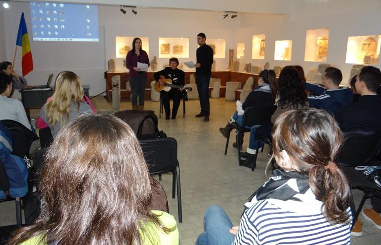 Mihai Eminescu  a fost omagiat la Muzeul Callatis