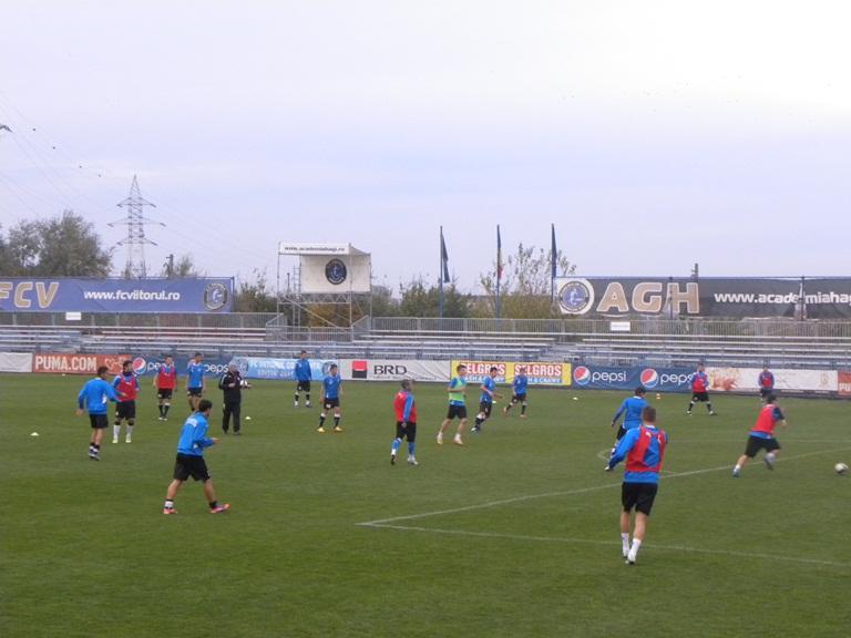 FC Viitorul  cantonament in Antalya