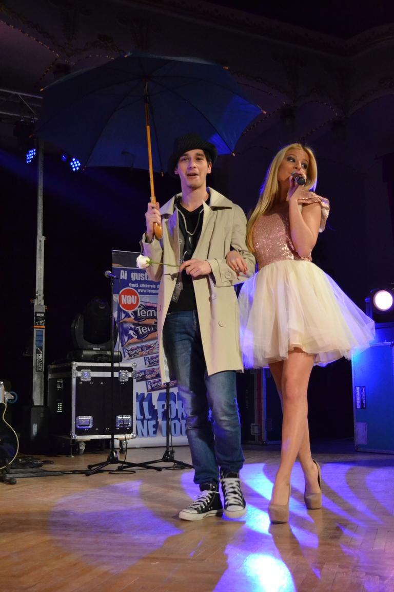 Lala Band a cantat pentru fanii din Targu Mures, Baia Mare si Satu Mare