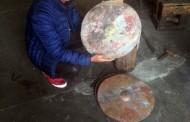 """Chupi """"Mandinga  Drummer""""  a avut parte de o surpriză de proporţii în timpul turneului trupei în Azerbaidjan şi Turcia."""