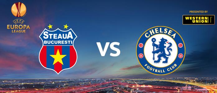 Steaua - Chelsea FC, urmatorul duel din Europa League!