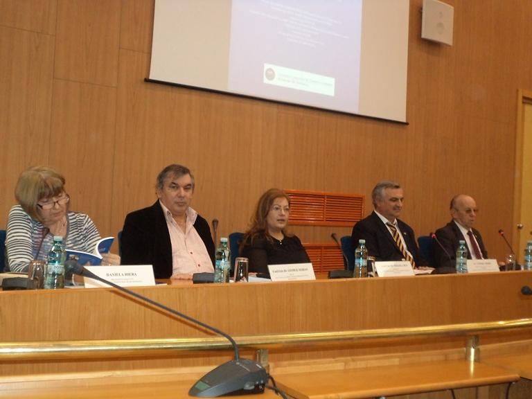 """Lansare de carte la Facultatea de Drept,  Ştiinţe Administrative şi Sociologie (FDSAS), din cadrul Universității """"Ovidius"""" din Constanța"""
