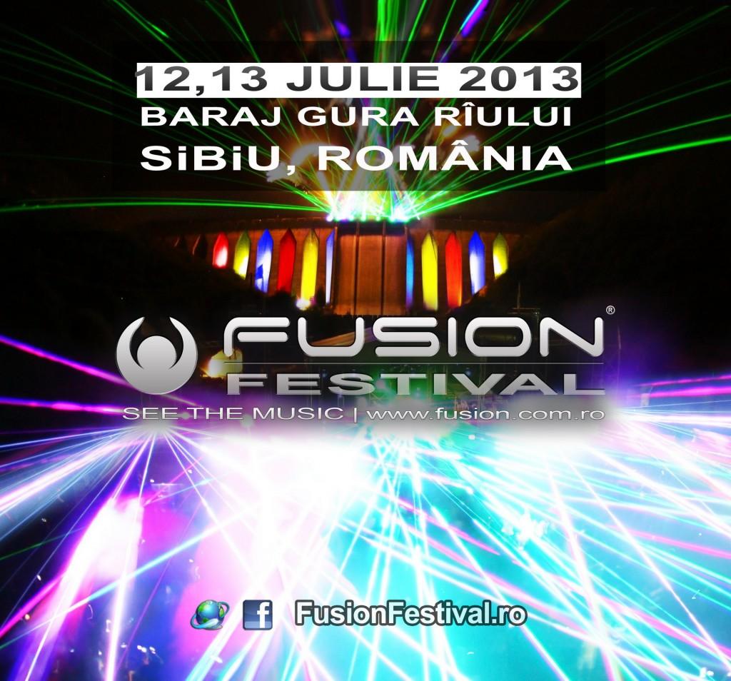 Arnej si Freestylers la FUSION Festival 2013