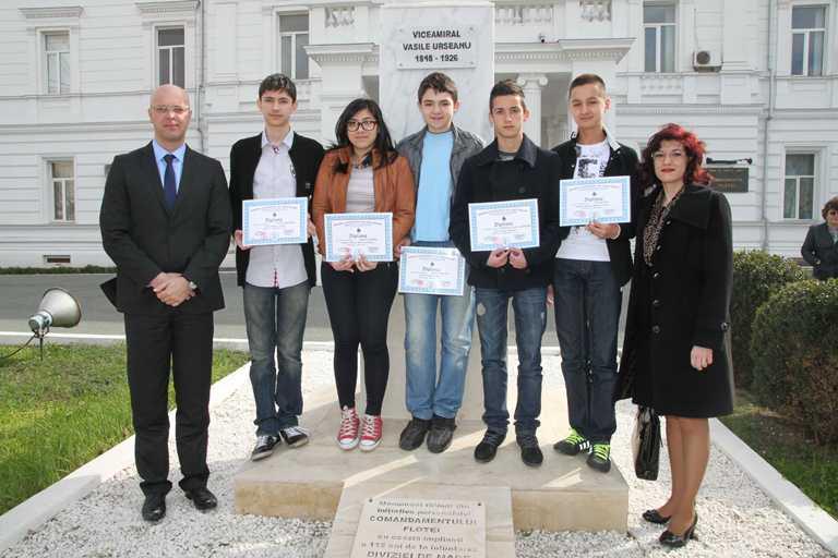 """Festivitatea de premiere a  celei de a XXI-a ediții a Concursului de Matematică """"Viceamiral Vasile Urseanu"""""""