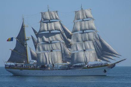 """Constanța, gazdă a primei regate """"tall ships"""" din Marea Neagră"""
