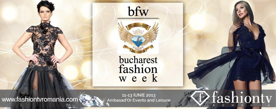 Bucharest Fashion Week 11-13 iunie 2013