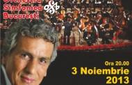 Pe 3 Noiembrie, pentru prima data in Romania, Toto Cutugno va canta impreuna cu Orchestra Simfonica Bucuresti!