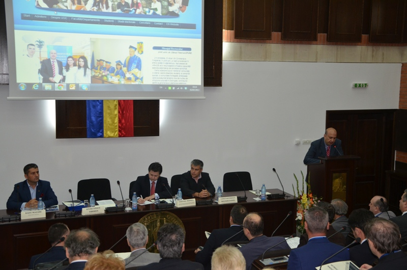 """Rectorul Universităţii """"Ovidius"""" din Constanţa a fost ales vicepreşedinte al Consiliului Național al Rectorilor din România"""
