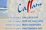 La Mangalia, începe Festivalul Callatis