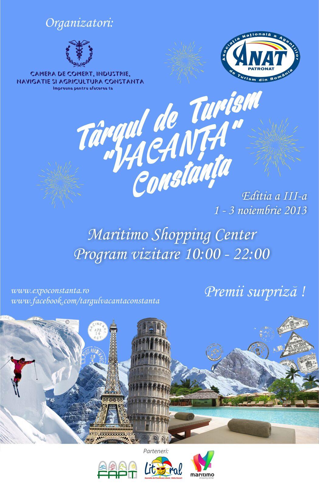 "Târgul de Turism ""Vacanţa"" Constanţa 2013"
