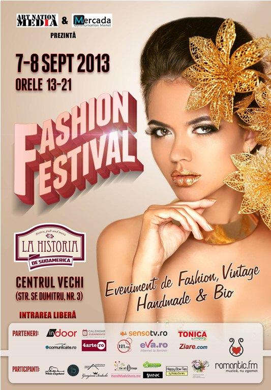 Rochite unicat si coliere inedite la Fashion Festival in week-end!