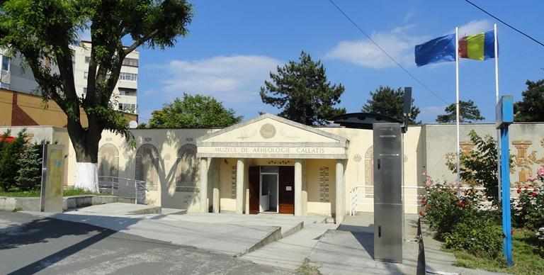 Recipiente ale produselor viticole din Muzeul Callatis