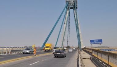 Vezi cum se va circula pe podul de la Agigea