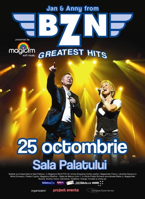 Concert BZN: biletele din categoria 5, epuizate!