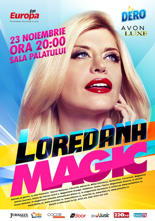 Loredana canta in noiembrie la Bucuresti