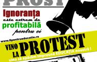 LSUMC și AEC protestează miercuri, 13 noiembrie, în strada