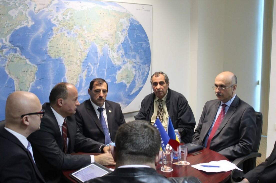 Reprezentanţi ai Conducerii Rafinăriei Modriča, din Bosnia- Herzegovina, în vizită la CCINA Constanţa