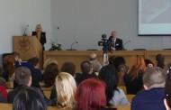 "Intalnire emotionanta la Universitatea ""Andrei Saguna"" din Constanta"