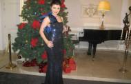 Ea e cantareata de muzica populara care nu a uitat acasa lenjeria rosie in noaptea de Revelion!