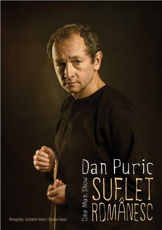 Pe 12 februarie, la orele 19.00, chiar la aniversarea varstei de 55 de ani, Dan Puric joaca