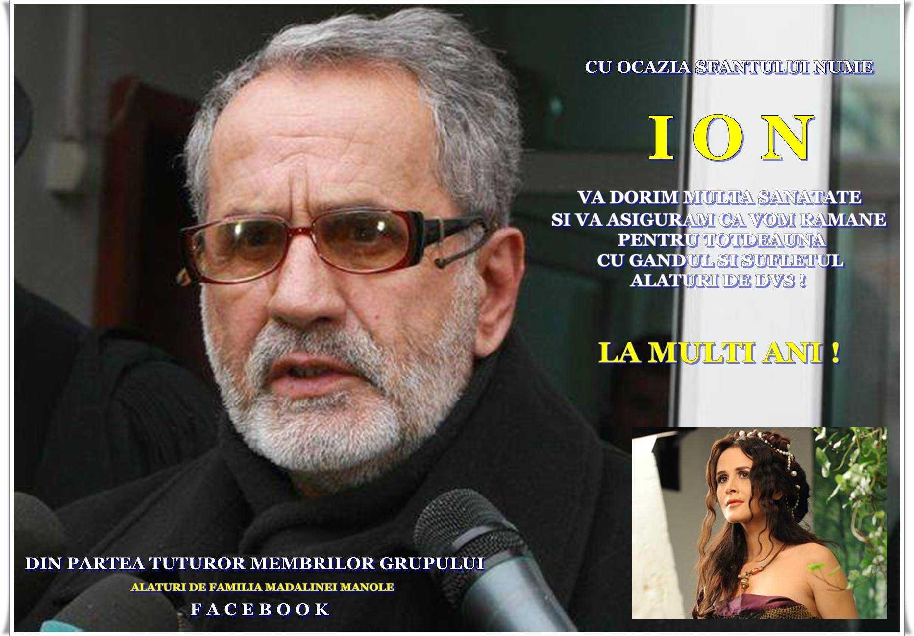 Tatal Madalinei Manole felicitat de fanii artistei pe Facebook