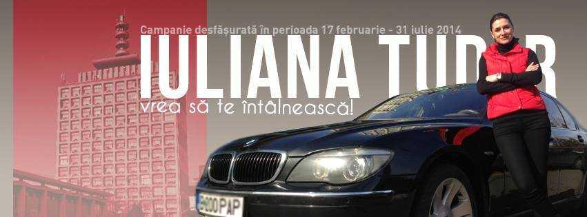 Iuliana Tudor vrea sa te intalneasca!