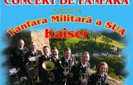 Formatia Muzicala a armatei americane in concert la Mihail Kogalniceanu