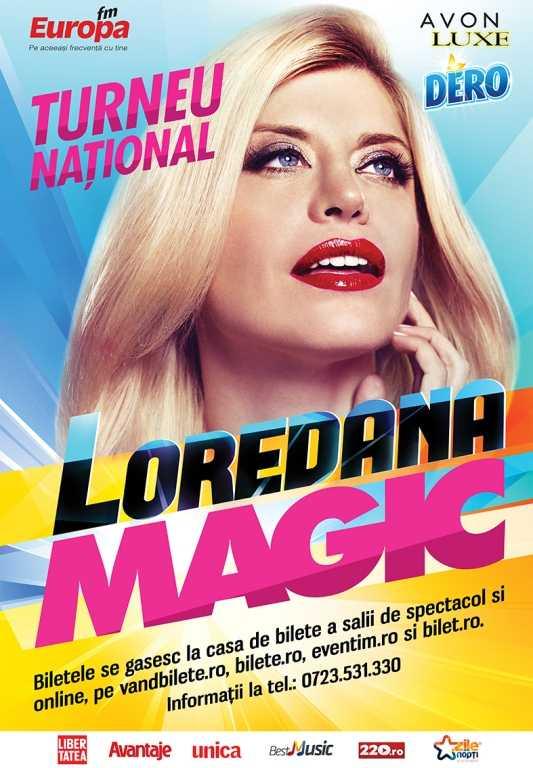 """Diva României la Constanța. Loredana - """"Magic"""" – un concert de Super Star"""