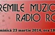 Nominalizările pentru Premiile Muzicale Radio România, editia 2014