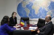 Reprezentanţii  Ambasadei Marii Britanii în vizită la CCINA