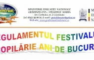 """Festivalul judetean """"Copilarie ani de bucurie"""" la Constanta"""