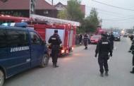Intervenţie a jandarmilor constănţeni în stingerea unui incendiu la Vama Veche
